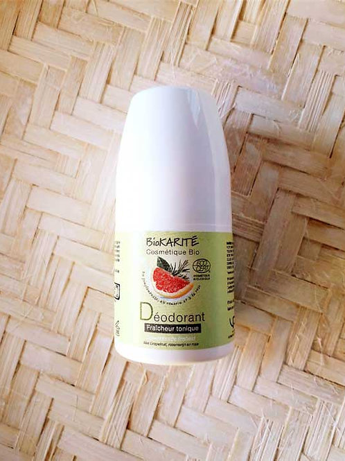 "SOIN CORPS - Biokarité ""Hygiène"" - Déodorant roll-on 50 ml"