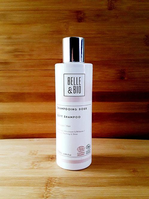 SOIN CHEVEUX - Belle & Bio - Shampoing Doux tous types de cheveux 200 ml