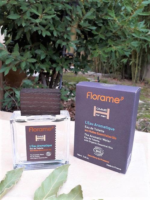 """PARFUM HOMME - Florame """"L'Eau Aromatique"""" - EDT vapo 100 ml"""
