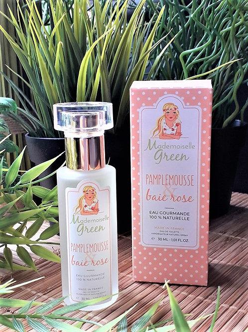 """PARFUM FEMME - Mlle Green """"Pamplemousse-Baie rose"""" - EDT vapo 30 ml"""