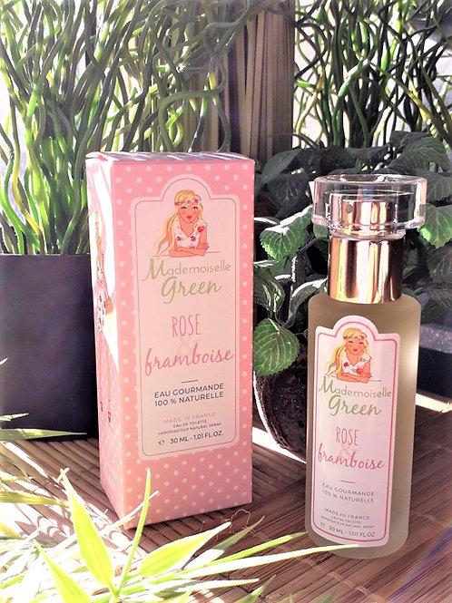 """PARFUM FEMME - Mlle Green """"Rose-Framboise"""" - EDT vapo 30 ml"""