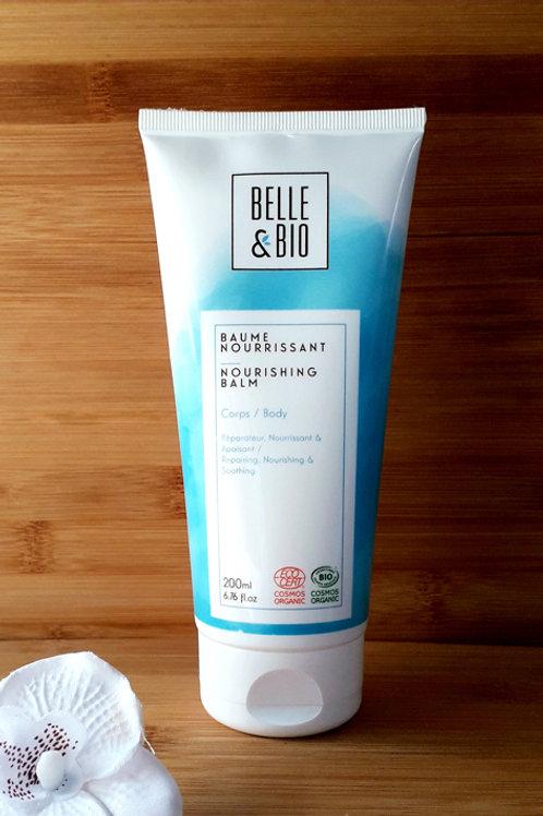 """SOIN CORPS - Belle & Bio """"Hydratation"""" - Baume nourrissant toutes peaux 200 ml"""