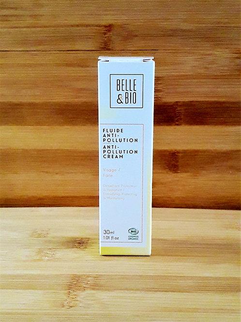 """SOIN VISAGE - Belle & Bio """"Detox"""" - Fluide anti-pollution toutes peaux 30 ml"""