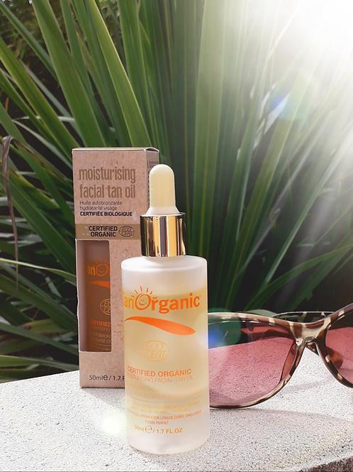 "SOLAIRE - Tan Organic ""Visage"" - Huile autobronzante hydratante visage 50 ml"