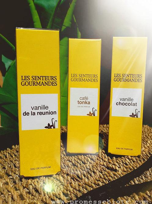 """PARFUM FEMME - """"Vanille de la Réunion"""" - Les Senteurs Gourmandes - EDP vapo15 ml"""