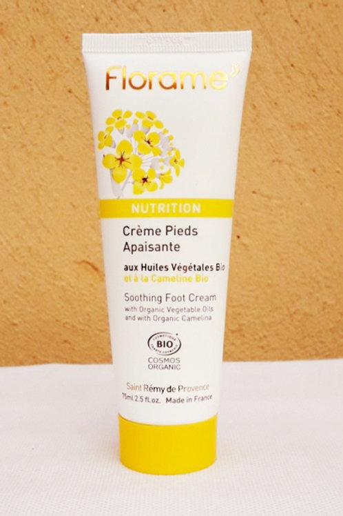 "SOIN CORPS - Florame ""Nutrition"" - Crème pieds apaisante 75 ml"