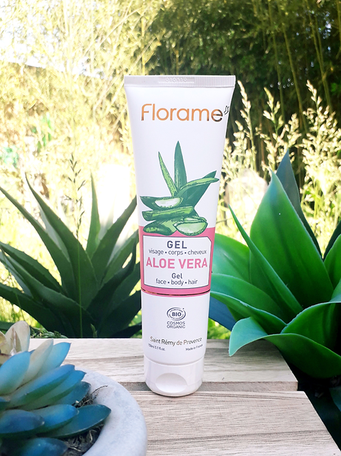 "SOIN VISAGE & CORPS - Florame ""Aloe Vera"" - Gel Visage, Corps & Cheveux 150 ml"