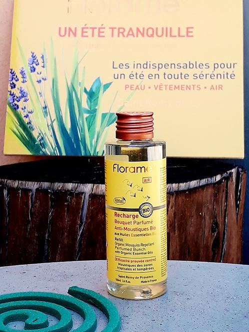 """PARFUM MAISON - Florame """"Anti-moustiques"""" - Recharge Bouquet parfumé 100 ml"""
