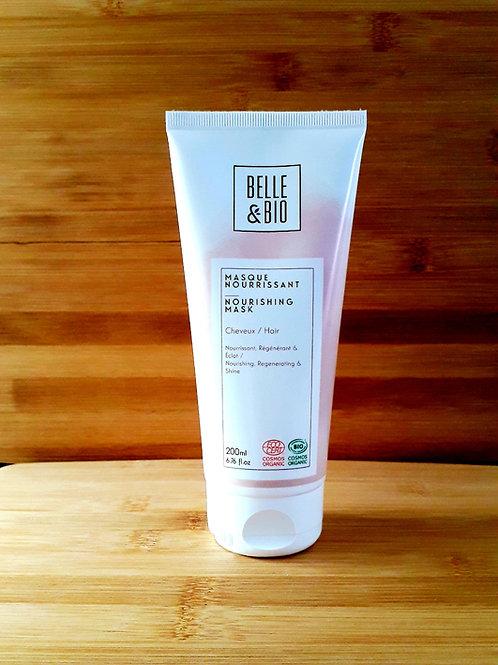 """SOIN CHEVEUX - Belle & Bio """"Soin capillaire"""" - Masque nourrissant cheveux 200 ml"""