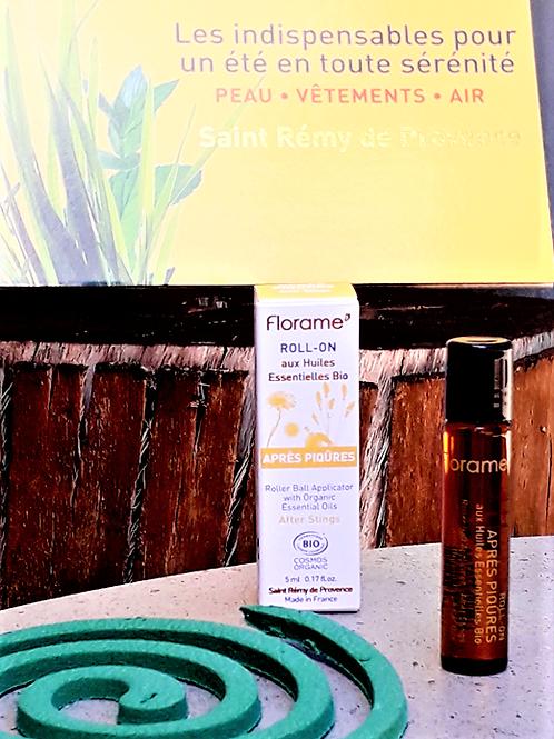 """SOIN CORPS - Florame """"Anti-moustiques"""" - Roll-on après-piqûres 5 ml"""