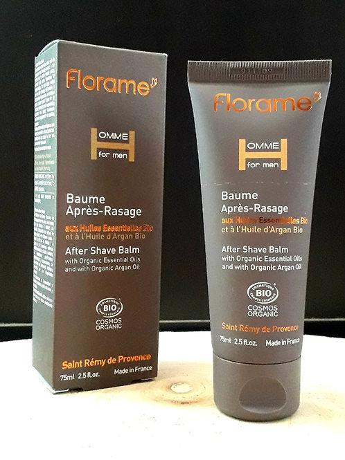 "SOIN HOMME - Florame ""Homme for men"" - Baume après-rasage 75 ml"