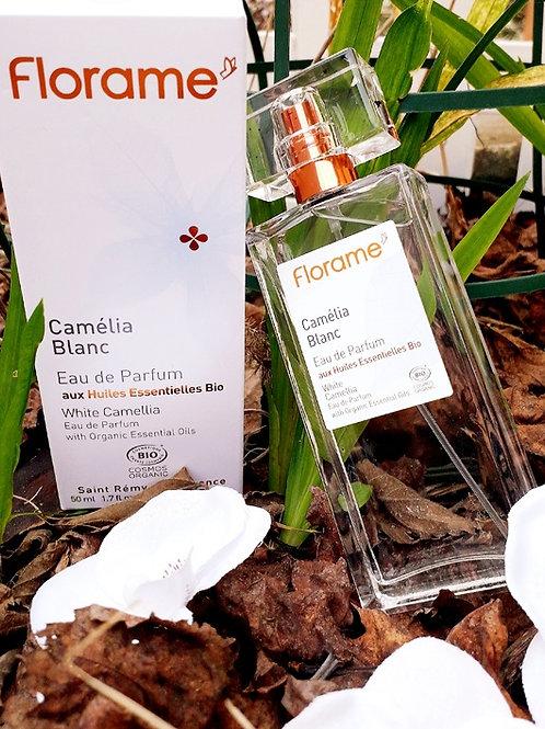 "PARFUM FEMME - Florame ""Camélia Blanc"" - EDP vapo 50 ml"
