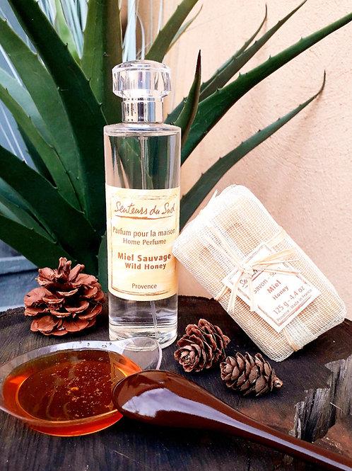 """COFFRET PARFUM MAISON - """"Miel"""" - Senteurs du Sud - Parfum + savon"""