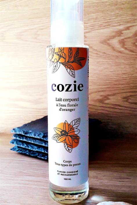 "SOIN CORPS - Cozie ""Gamme Hydratants"" - Lait corporel 100 ml"