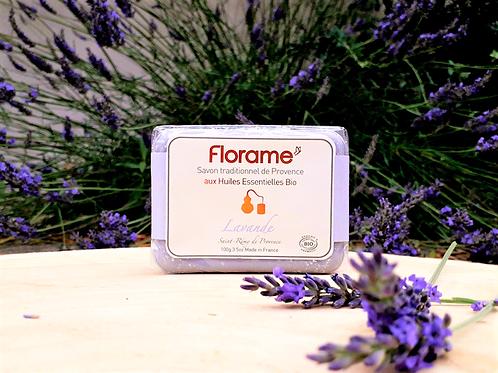 "SOIN CORPS - Florame ""Lavande"" - Savon traditionnel 100 g"
