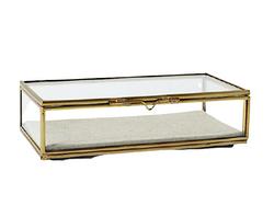 WEST ELM Brass Shadow Box