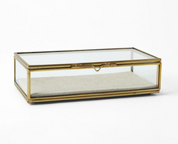Gold Jewellery Box
