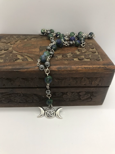 Triple moon rosary