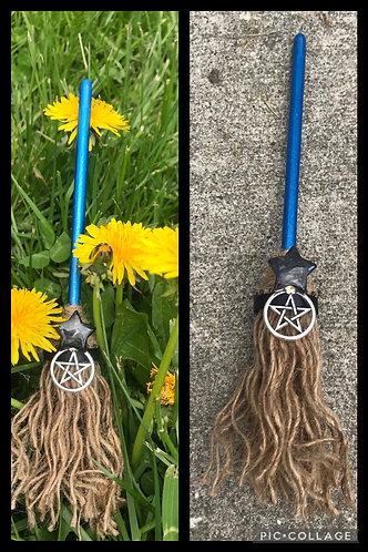 Handcrafted  witchy brooms 🧹