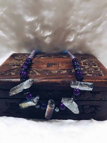 Stone of purple reef from dark mermaid cove