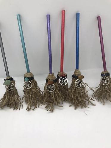 Handmade mini brooms 🧹