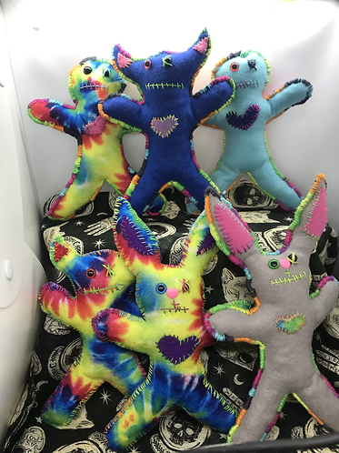 Large Voodoo/ Poppet babies bunny and devil