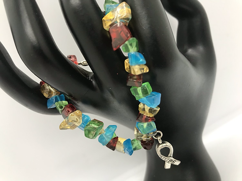 Autism awareness bracelet     *Free Shipping in U.S.*