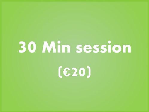 Payment for Online ComputerTutor Class - 30 Mins