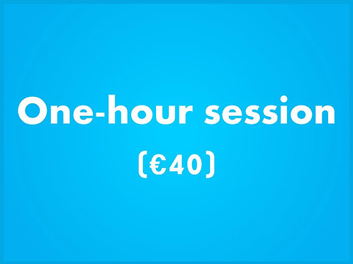 Payment for Online ComputerTutor Class - One Hour