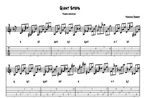 Giant Steps Study