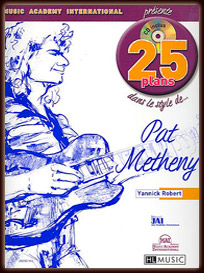 25 Plans dans le style de Pat Metheny