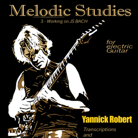 MELODIC STUDIES 3 (over JS BACH)