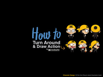 HOW TO : Turn around your character design