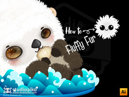 How to : Fluffy Fur Custom brush (Ai)