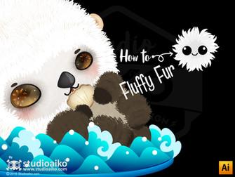 How to : Fluffy Fur Custom brush (Ai)