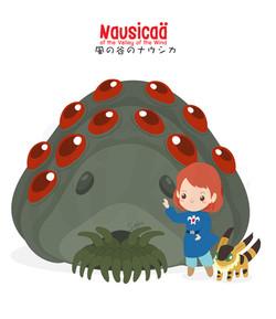 Ghibli-Nausicaa