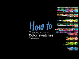 HOW TO : Custom Color Swatches