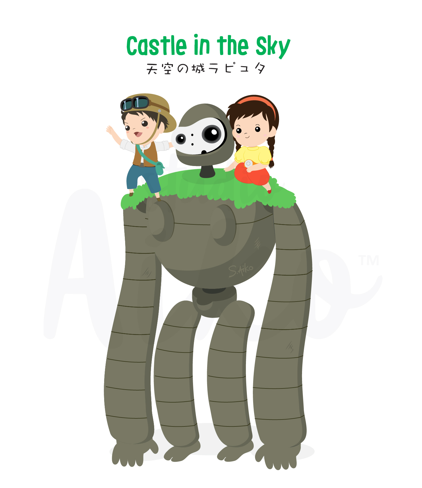 Ghibli-Castle in the sky