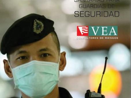 Recomendaciones Sanitarias para Guardias de Seguridad (por  el profesor Edgardo Frigo)