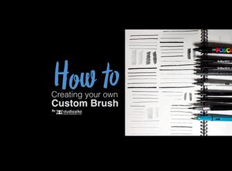 HOW TO : Custom Brushes in illustrator