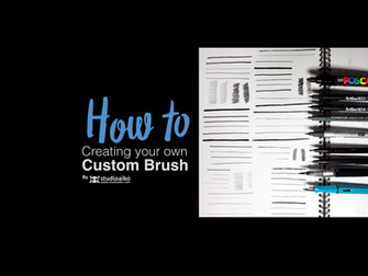 HOW TO : Custom Brushes in illustrator