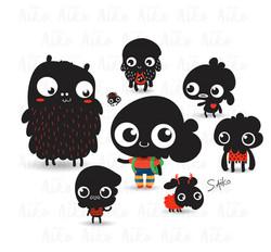 Black_mini_Monsters