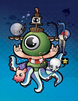 Octo submarine