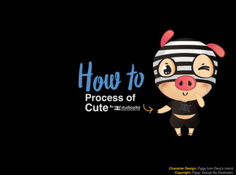 "HOW TO : ""Drawing Cute Cartoon"""