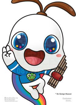Re-Design Mascot น้องสุขใจ