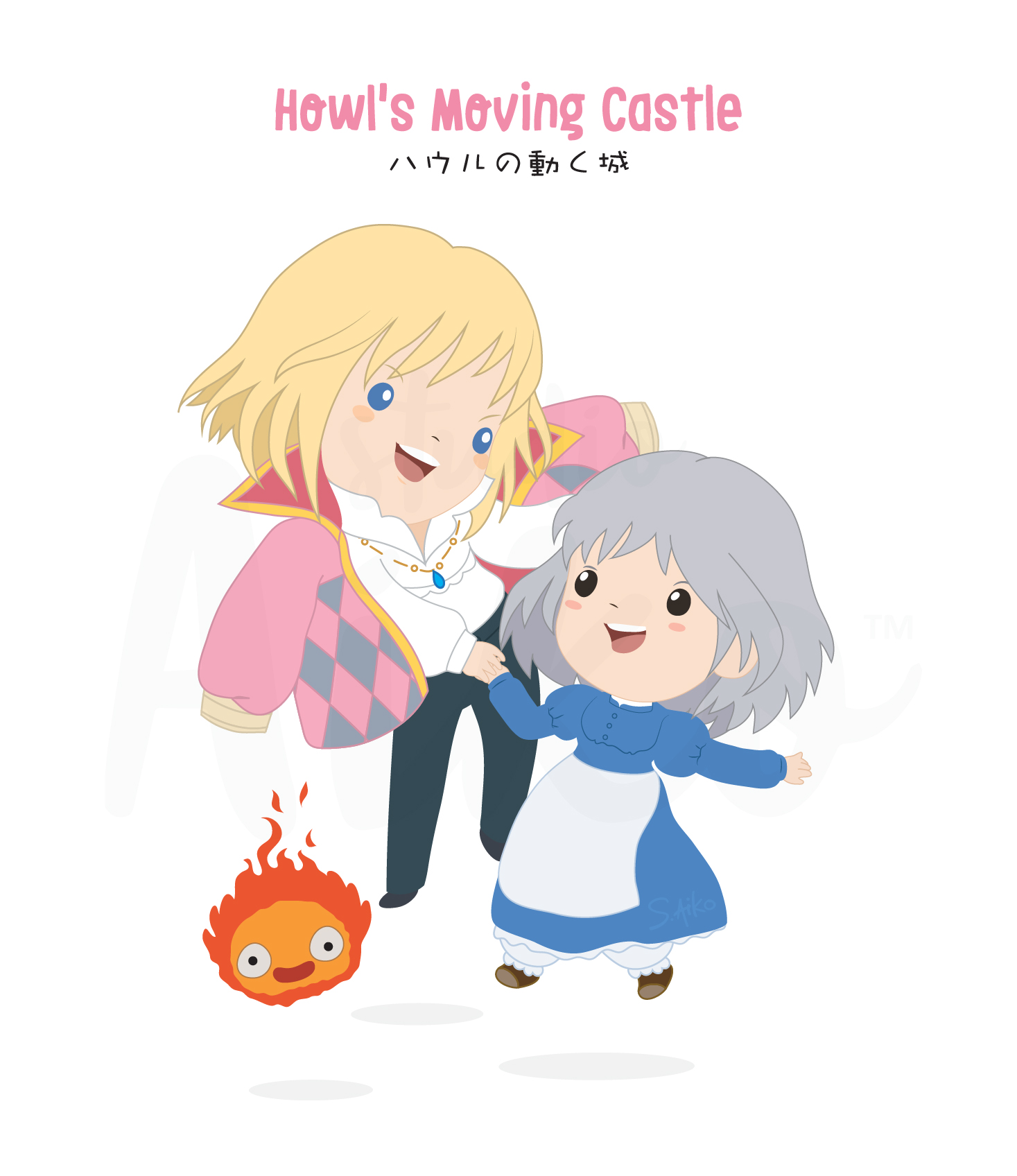 Ghibli-Howl's moving castle