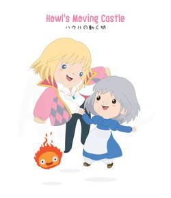 Ghibli-Howl's moving castle