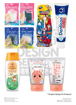Graphic design on Product