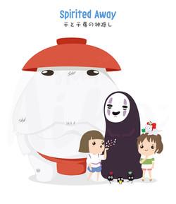 Ghibli-Spirited Away