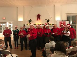 Holiday Chorus...Ooh, Ooh, Ooh!